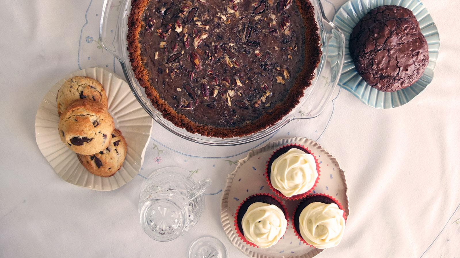Macy's Fields cookies, pie, cupcakes